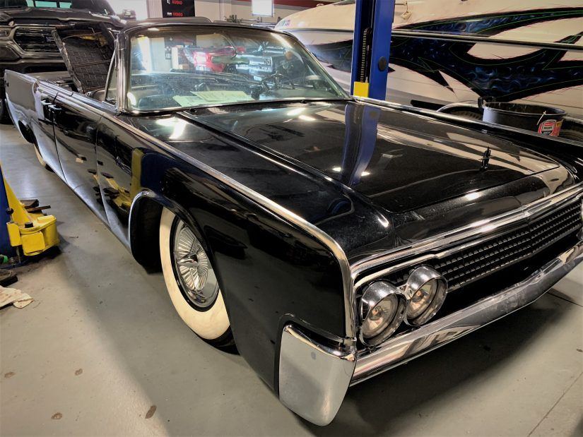 Image for 1963 Lincoln Continental post
