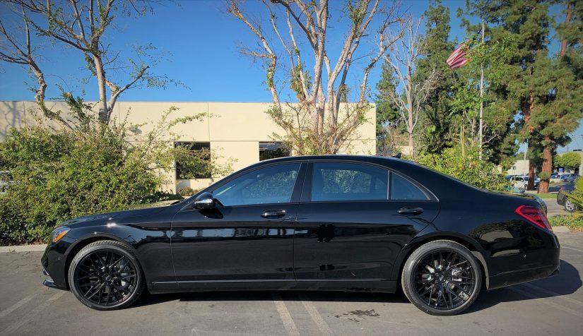 Image for 2020 Black Mercedes post